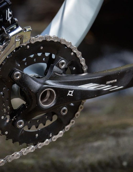 You'd be forgiven for not having heard of Prowheel cranks. They're a similar design to Shimano, but cheaper