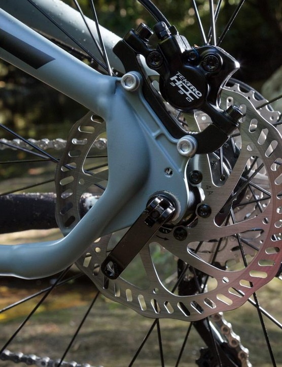 Tektro 330 HDC 330 hydraulic brakes were a pleasant suprise on a bike at this price