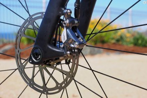 Disc brakes are happening. But it's very much a trial