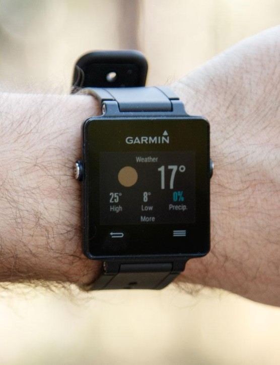 Once synced with a phone through Garmin's Connect app, the watch will relay plenty of useful information that will let you keep your phone in your pocket more