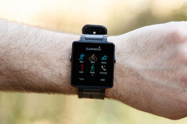 We got a Garmin VivoActive wondering whether it's any good for cyclists. It is