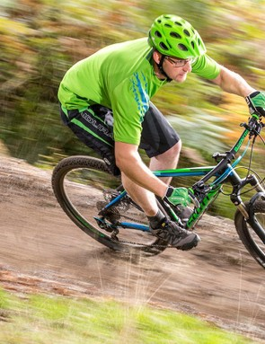 The Aspect holds its speed nicely on flatter trails