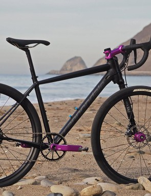 The Cannondale Slate is unlike any other road bike with its 650b wheels, a single-sided Lefty Oliver fork with 30mm of travel, and a highly manipulated aluminum frame