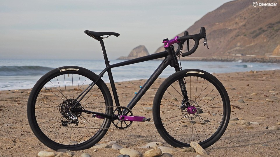 a1b0797b64f The Cannondale Slate is unlike any other road bike with its 650b wheels, a  single