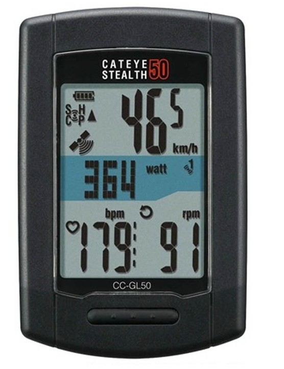 The Cateye Stealth 50 GPS Computer