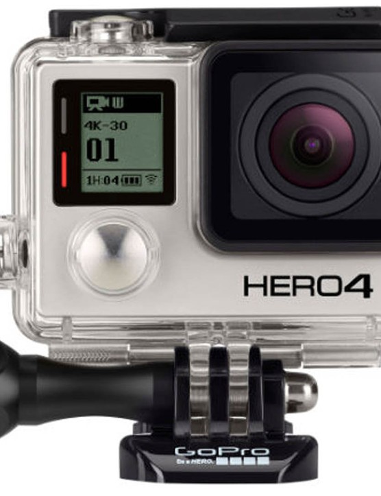 The GoPro Hero4 Black – equally perfect for Christmas home videos and cycling adventures