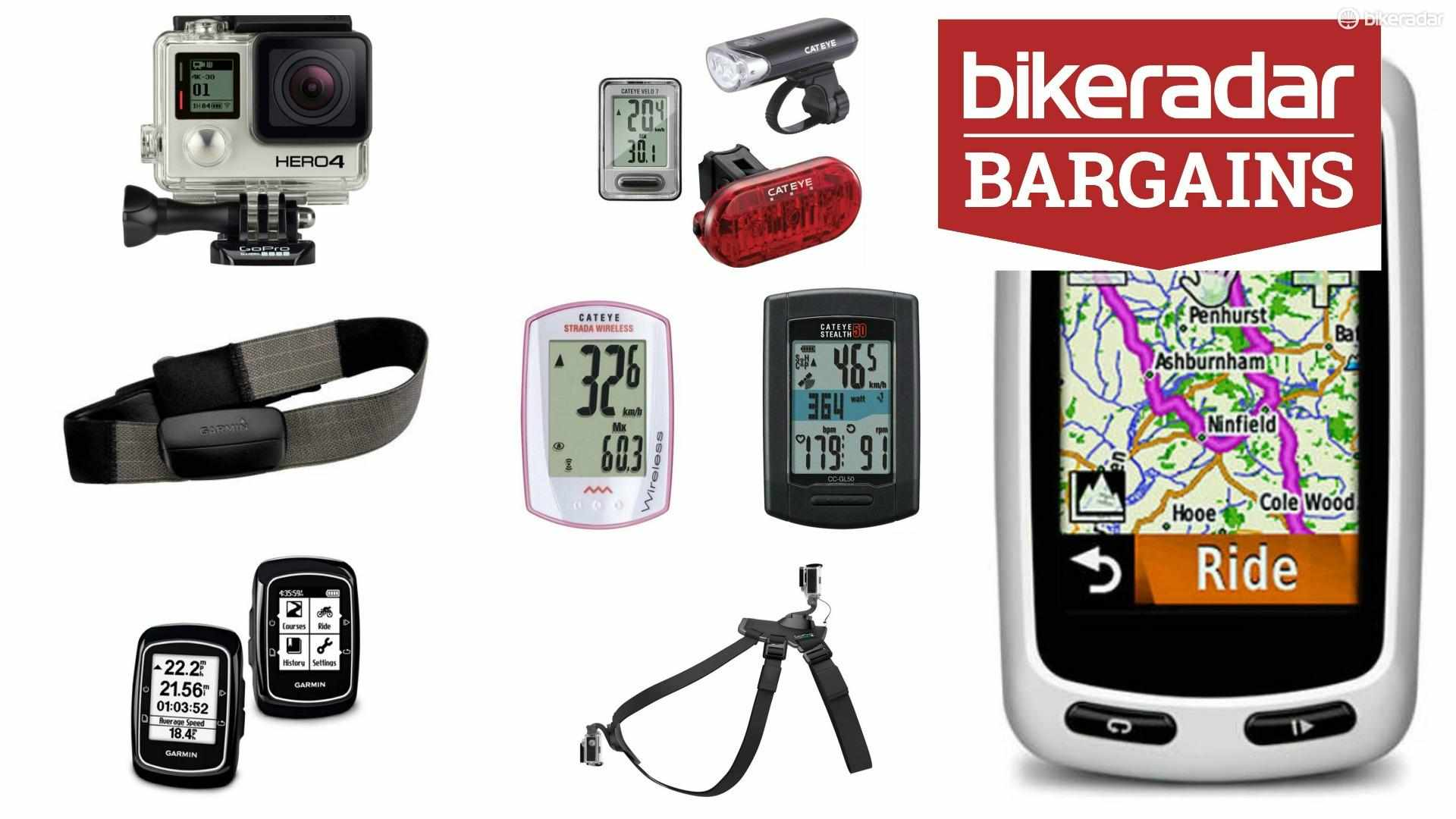Bargain time, with plenty of computers, GPS units and accessories to lift a gadget-lover's heart. Oh, and a GoPro for good measure