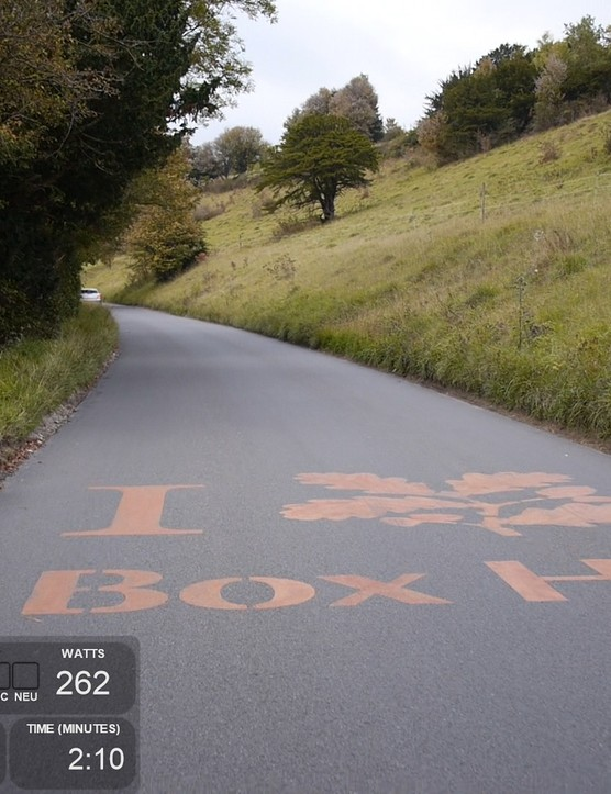Box Hill - iconic due to its inclusion in the 2012 Olympic road race