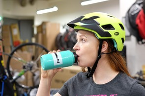 Keep sipping through the chilliest rides and drink plenty of water throughout the day