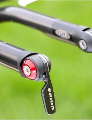 SRAM shifters offer better ergonomics