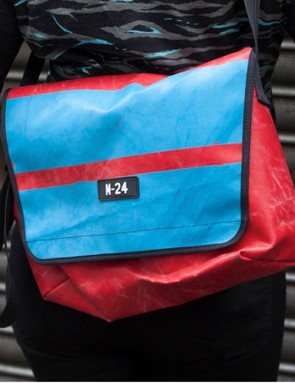 The Chassis messenger has capacity for a 15in laptop, pair of shoes, lunch and more