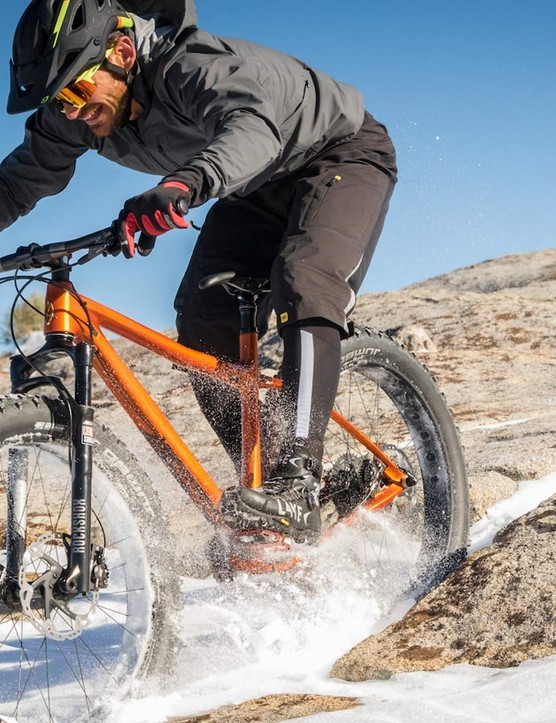 Ibis specs 4in tyres on the Trans-Fat, a bike that is said to be responsive and fun, whether on sand, snow or dirt