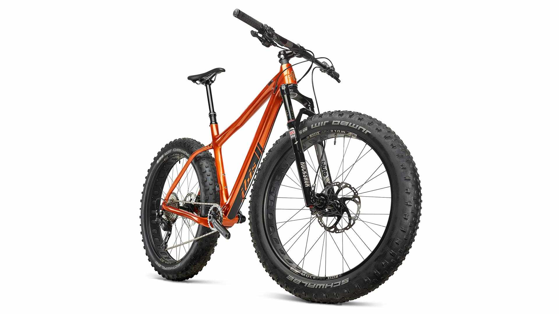 The complete Trans Fat arrives with a Rockshox Bluto fork and Shimano XT 1x transmission