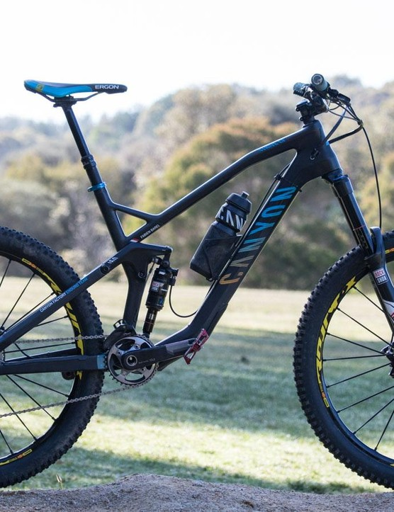 The Canyon Strive CF Team is a purpose-built enduro racing machine