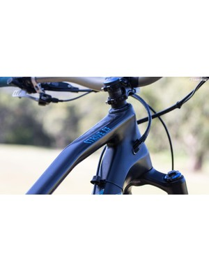 The Strive offers internal cable routing with plenty of routing options
