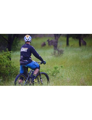 Barel was seen razzing the trails of Victoria, Australia. He was there to launch the Canyon brand in Australia and New Zealand to local cycling media