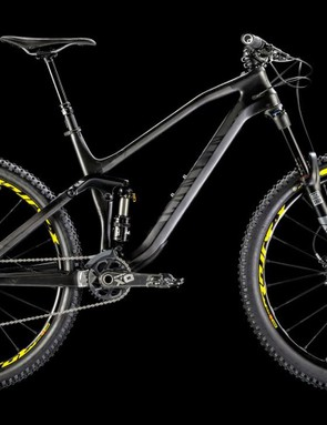 The winner of our Canyon bike competition chose this stealthy machine. The 2016 Canyon Spectral CF 9.0 EX