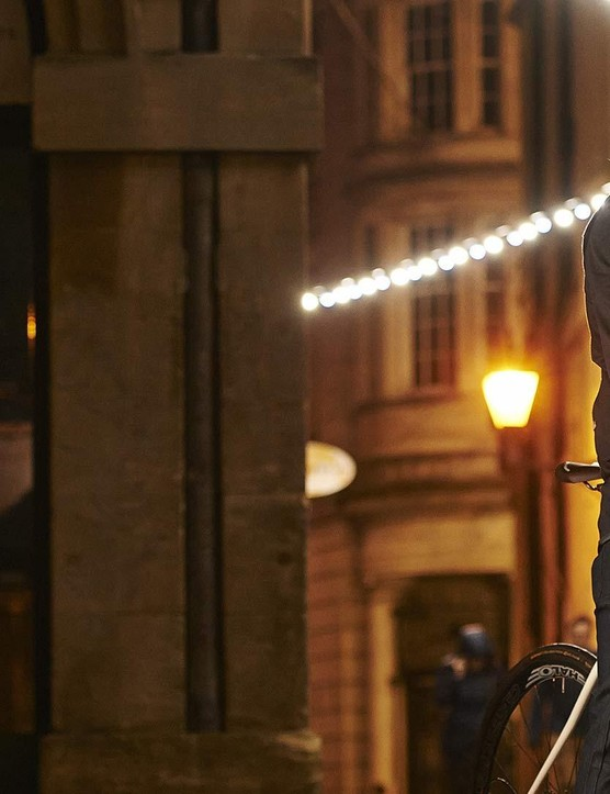 Lumo's Herne Hill Harrington jacket features built-in LEDs