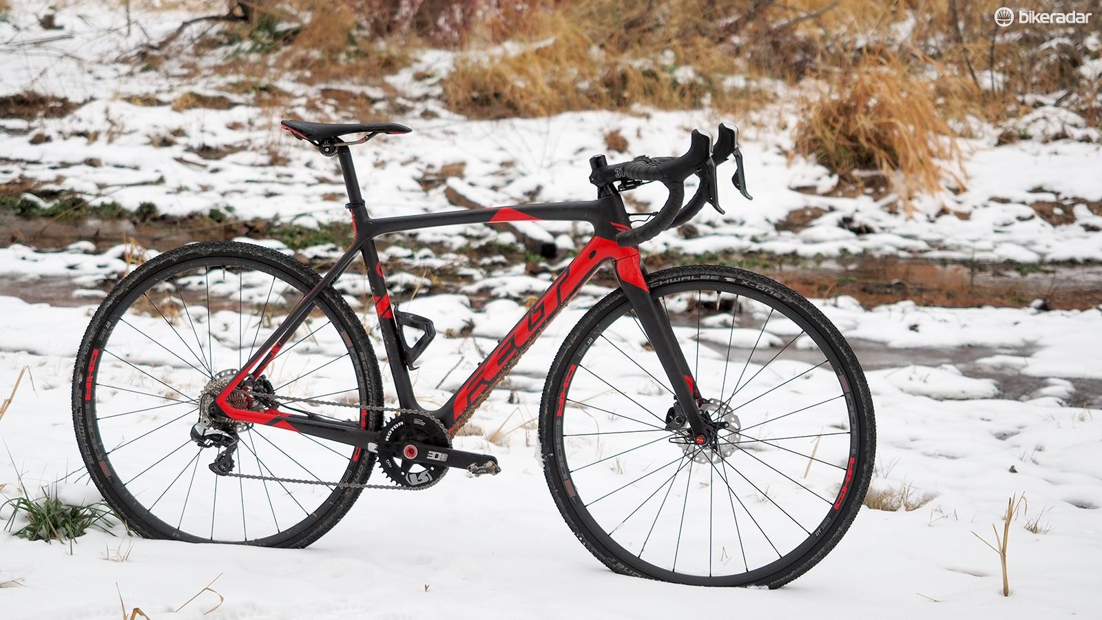 The Felt F1x Di2 is an absolute race rocket, combining incredible stiffness and efficiency with a surprisingly smooth ride