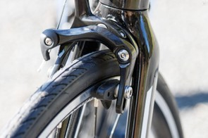 These brakes are borderline irresponsible. We were not comfortable riding in a group with them
