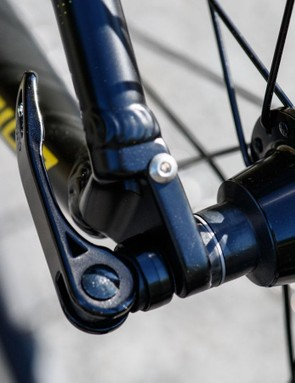 Merida offers these stealthy mounts for fenders (finding fenders to fit such a design may prove an issue)