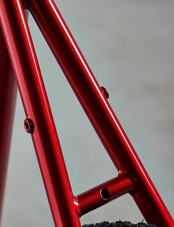 The rear rack mounts promise versatility
