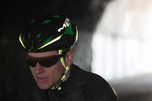 The Nightlights version of the Sine Thesis helmet gets additional visibility from all angles