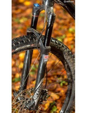 You get a quality RockShox fork even on this base model