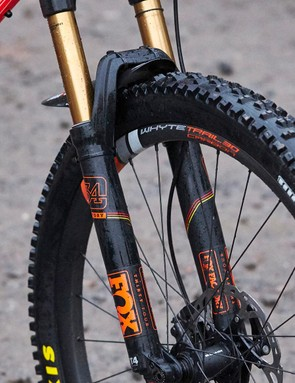 Fox's latest 34 fork gets the new FIT4 damper, which lets you add low-speed compression damping in open mode to increase support