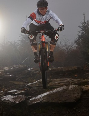 The T-130 is a very capable descender, but is impressively responsive on the climbs too