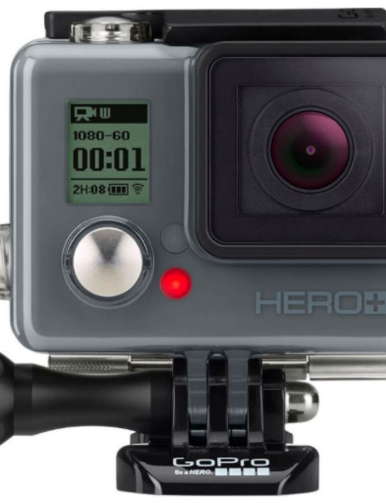 The GoPro Hero+ has an LED touch screen incorporated