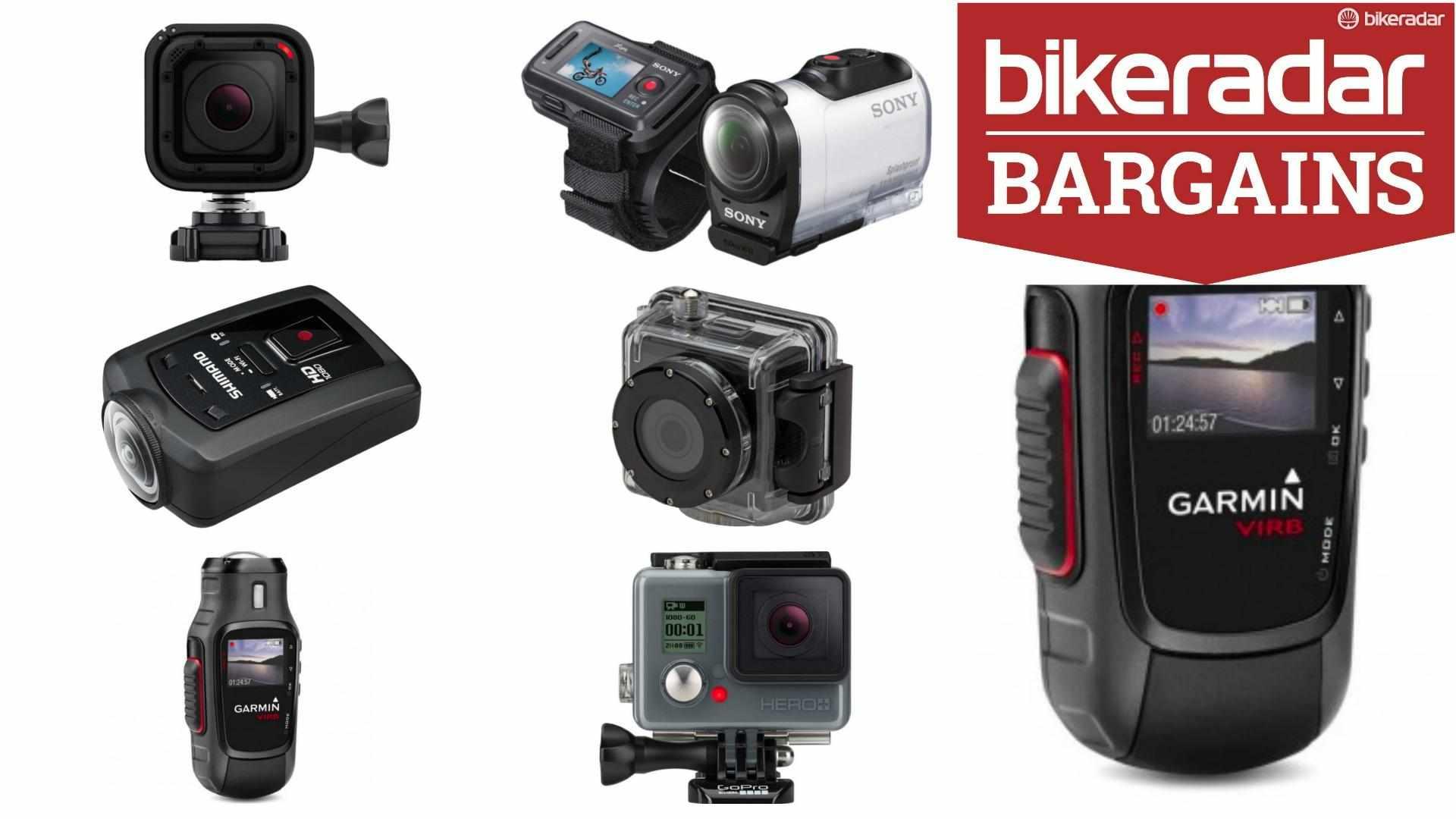 Action camera bargains galore