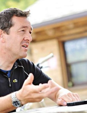 … and here's another famous Chris, who'll be speaking at the Cycling Performance Theatre