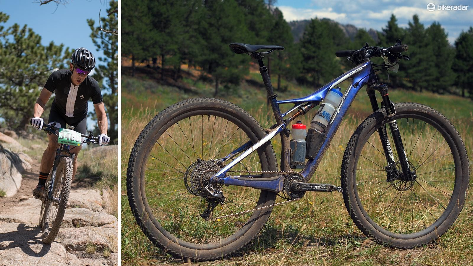 The Specialized S-Works Epic World Cup is purpose-built for shorter and more intense XC-style events but with a few key modifications, it can work very well for marathon-style races, too