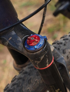 Adjustments on the fork are simple: just air pressure, breakaway threshold, and rebound