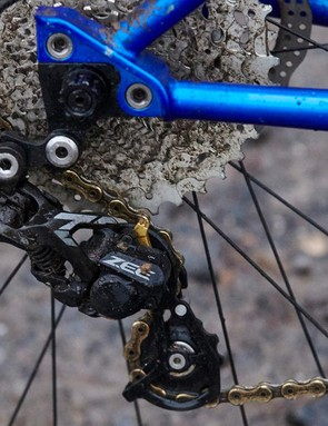 The extra-long 650b+ SwopOut dropouts seen here can be swapped for regular thru-axle, bolted or QR versions