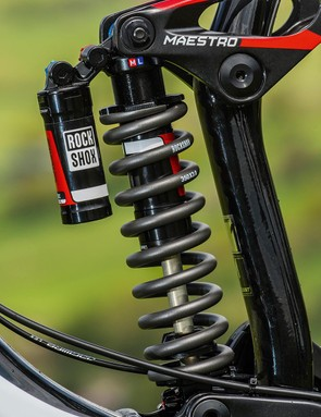 The RockShox Vivid shock is a spec highlight that really performs out on the trail