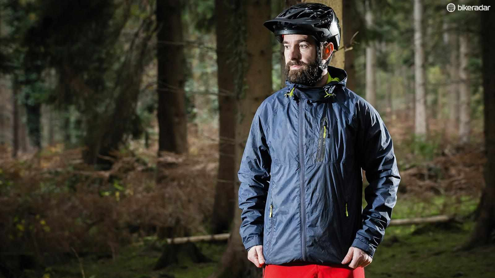 Specialized's Deflect H2O Mountain jacket kept out the weather well in testing