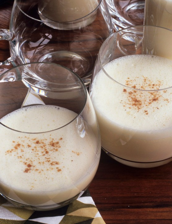 Tasty, creamy, spicy, and absolutely packed with calories. Eggnog is nice but you might be better off going for a snowball