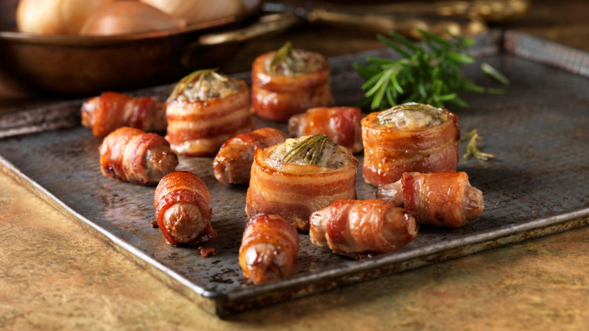 Pigs in blankets… delicious but my-oh-my, the calories!