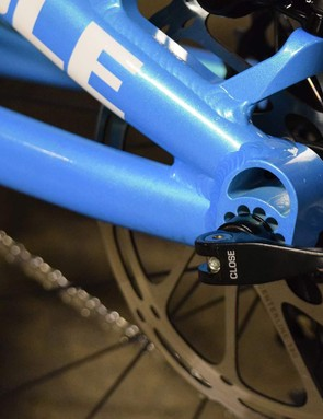 Our test bike came equipped with a 142x12mm rear end but a Boost version is also available