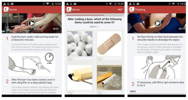 We hope you never need the Red Cross app, but it's a handy thing to have in unfortunate situations