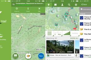 Viewranger is great for mountain biking