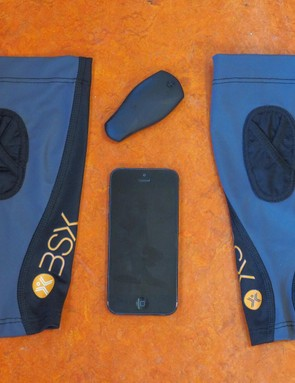The BSX Insight is held in place with a sleeve, and requires a smartphone to start recording