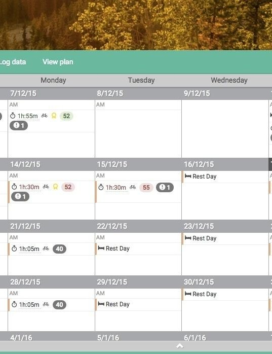 Today's Plan offers training plans tailored to your schedule and rich analytic tools
