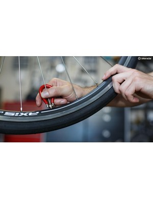 Your wheels hold you up through a reduction in tension, not with tension itself, says Bontrager