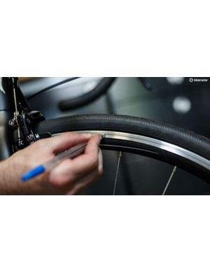 For those with rim brakes, keep a check on rim wear. Most rims will have wear indicators