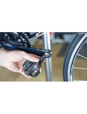 Ensure your pedals are greased before installing