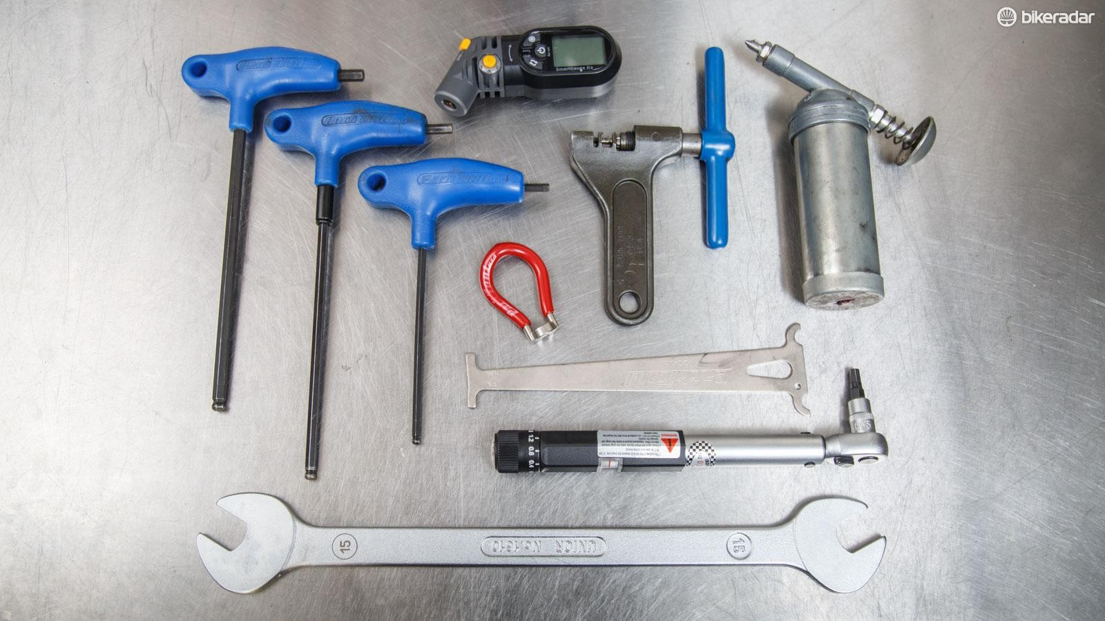 Some basic bicycle tools are required for these tips