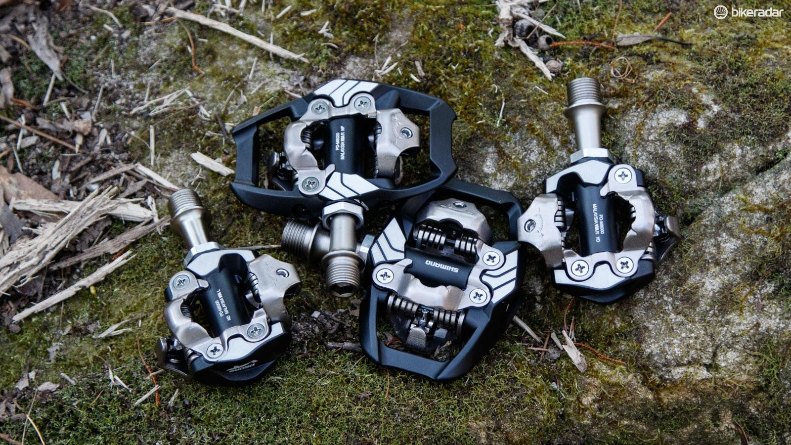 Clipless pedals are popular among road cyclists and cross-country mountain bikers for the secure attachment to the pedals they provide. getting out is a matter of a simple, easy sideways twist